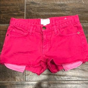 Current/Elliot Denim Shorts